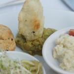 Guacamole mit frischen Chips
